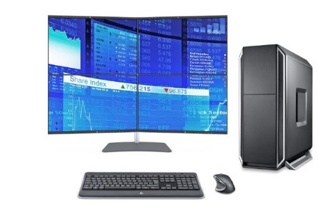 Datastation Activ, 4 Monitore