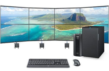 Trading PC, Datastation Live, 8 Monitore